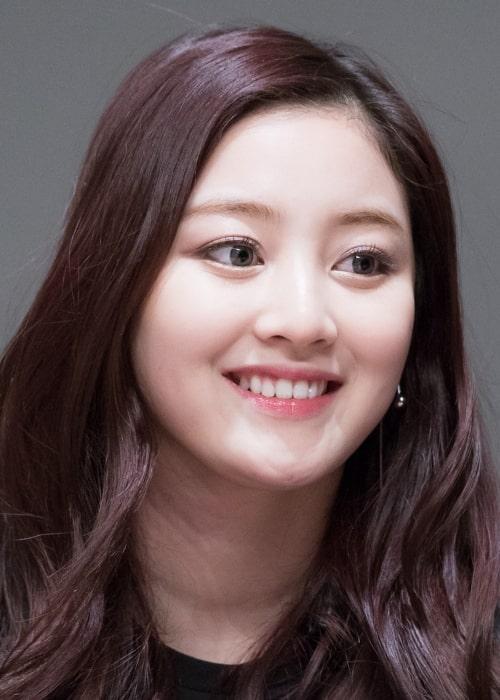 Jihyo as seen in December 2015