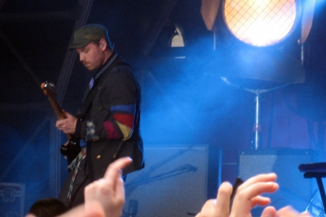 Jonny Buckland as seen while performing in June 2008