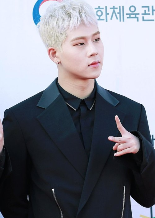 Jooheon as seen in November 2017