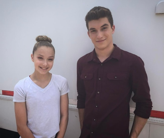 Josh Bogert with Hailey Fauchere