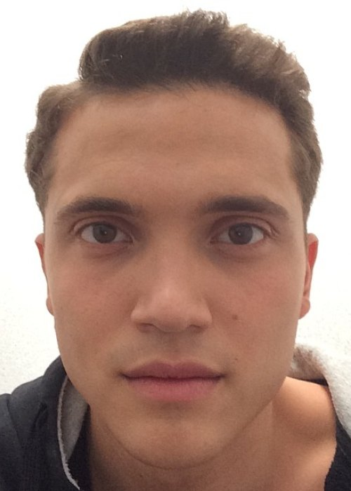 Karl Glusman in an Instagram selfie as seen in June 2014
