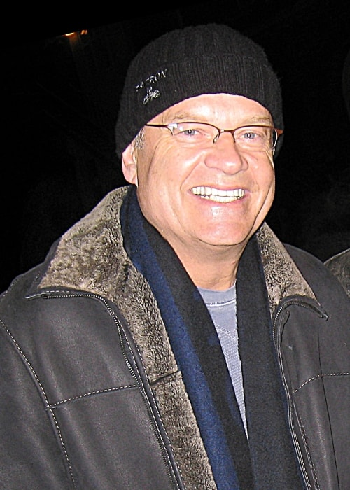 Kelsey Grammer as seen smiling in January 2008