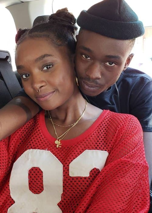 Kiki Layne and Ashton Durrand Sanders as seen in May 2018