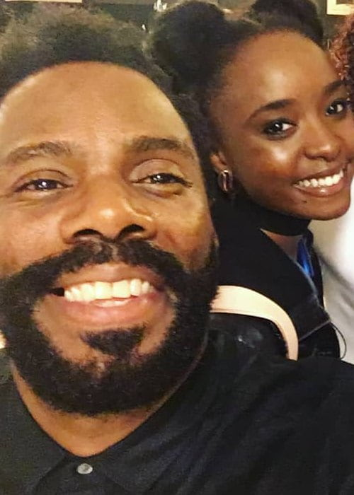 Kiki Layne and Colman Domingo in a selfie in October 2018