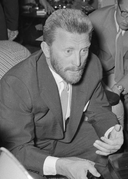 Kirk Douglas as seen in November 1955