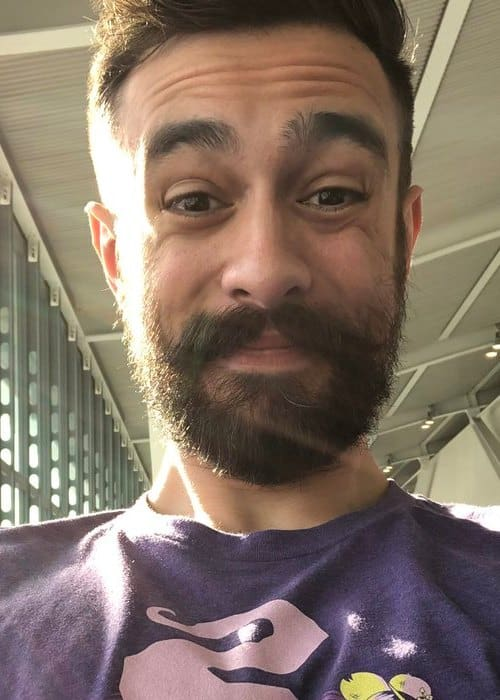 Kyle Simmons in a selfie as seen in October 2018