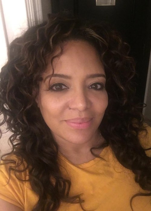 Lauren Vélez in a selfie as seen in November 2018