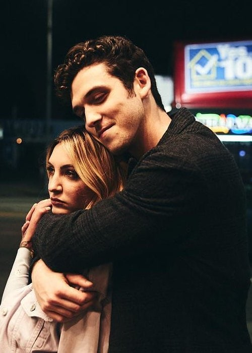 Lauv and Julia Michaels as seen in September 2018