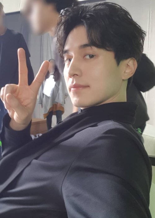 Lee Dong-wook in an Instagram post in November 2018