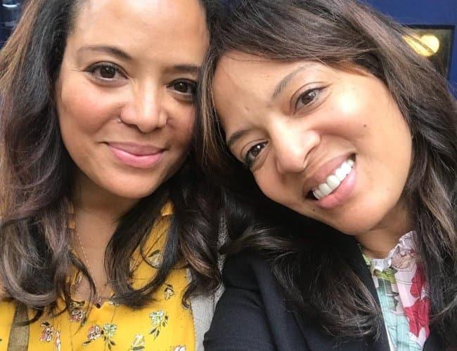 Lorraine Vélez (Right) and Lauren Vélez in a selfie in November 2018
