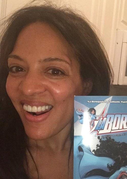 Lorraine Vélez in a selfie as seen in June 2018
