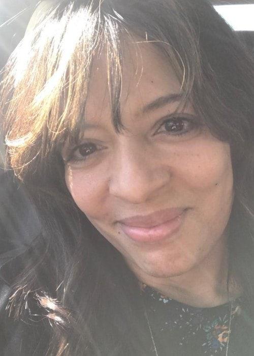 Lorraine Vélez in an Instagram selfie as seen in February 2018