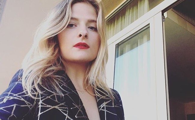 Louisa Gummer in an Instagram selfie as seen in October 2017