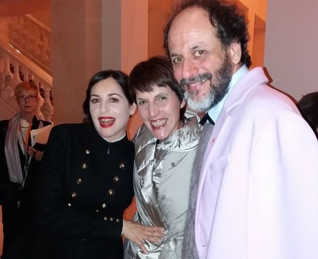 Luca Guadagnino smiling in a picture