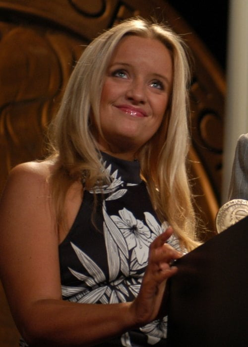 Lucy Davis at the 63rd Annual Peabody Awards in May 2004