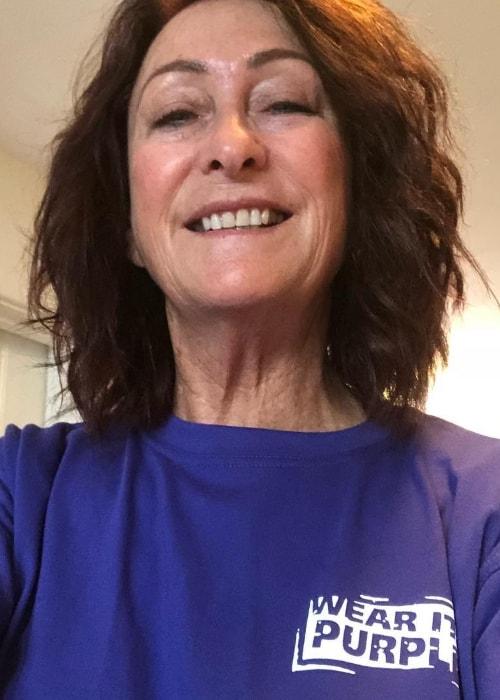 Lynne McGranger in a selfie in August 2018