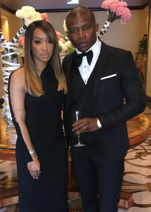 Malika Haqq and O.T. Genasis as seen in December 2018