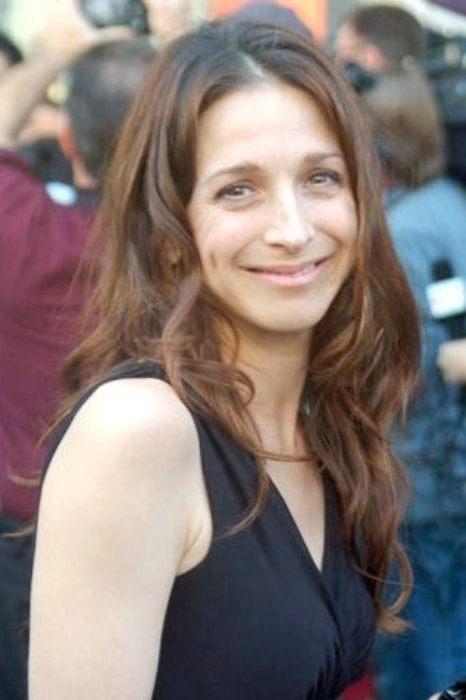 Marin Hinkle as seen at 'a star on the Hollywood Walk of Fame' receiving ceremony for Jon Cryer in September 2011