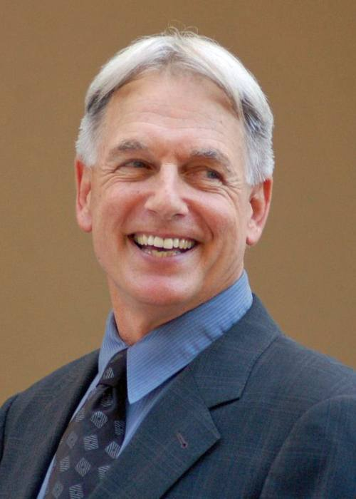 Mark Harmon at a ceremony to receive a star on the Hollywood Walk of Fame in October 2012