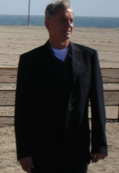 Mark Harmon during NCIS Filming in March 2009