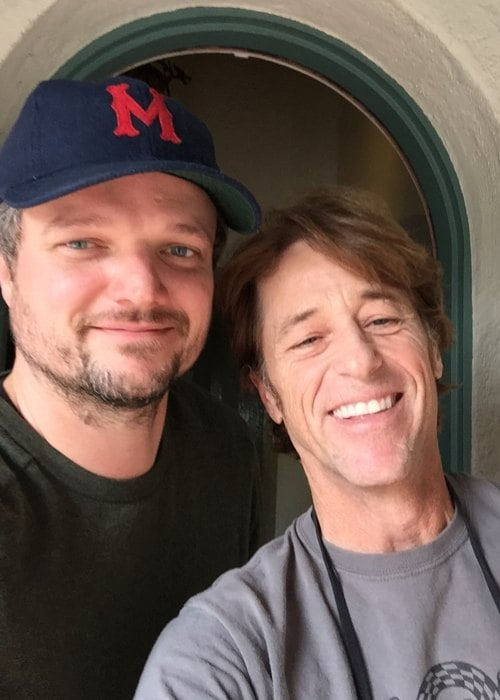 Matt Jones (Left) and Bill Allen in a selfie in November 2017