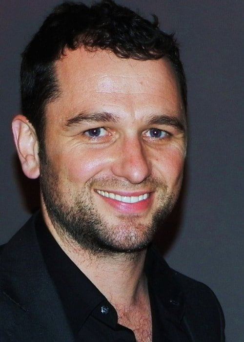 Matthew Rhys at a fundraising event in June 2011