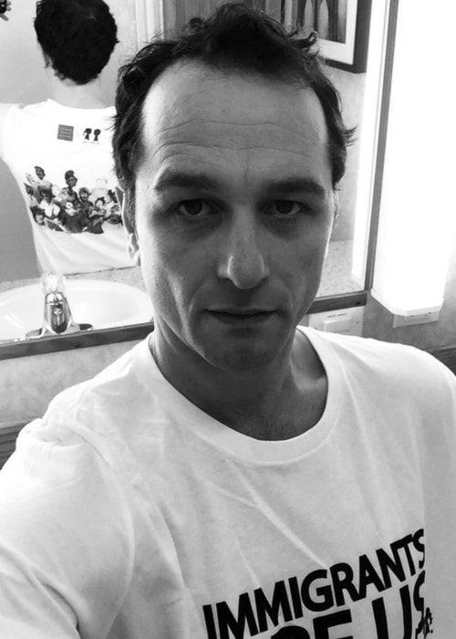 Matthew Rhys in a selfie as seen in November 2017