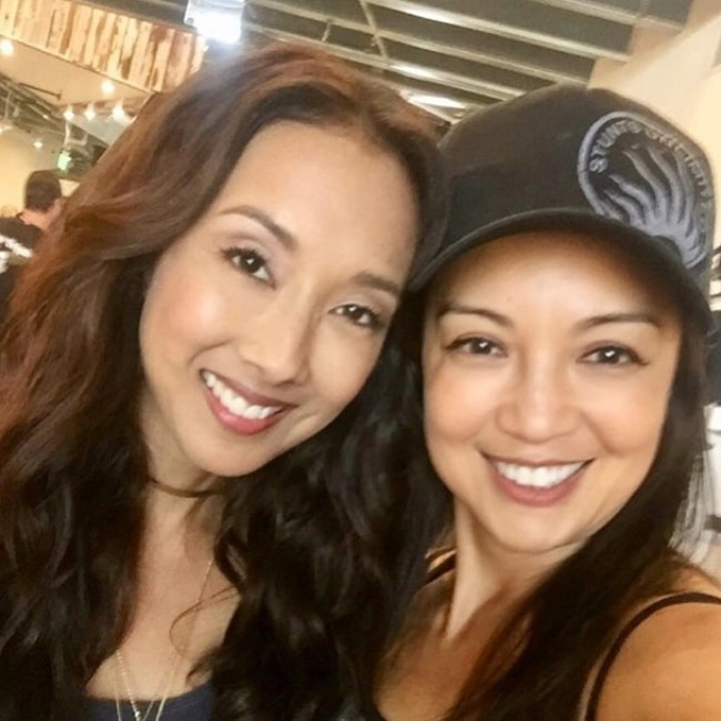 Ming-Na Wen (Right) in a selfie with Maurissa Tancharoen
