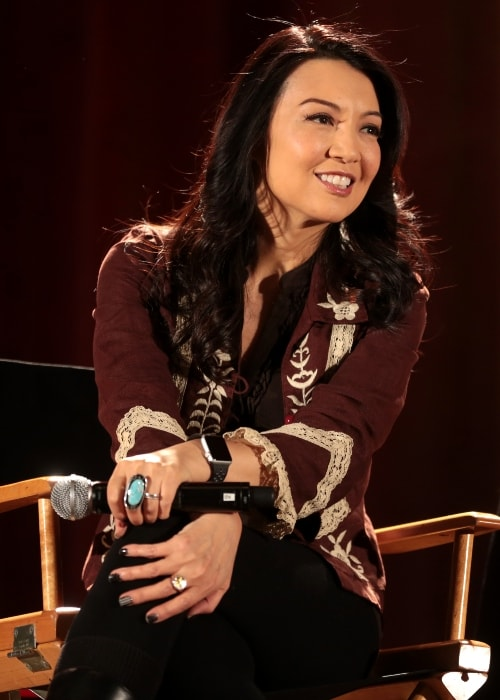 Ming-Na Wen as seen at the 2018 Phoenix Comic Fest
