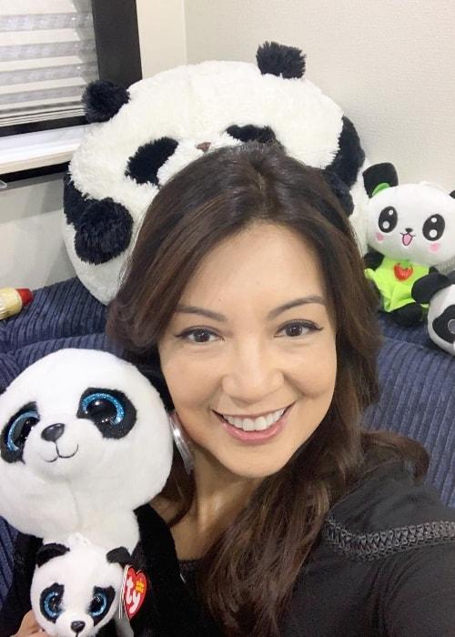 Ming-Na Wen in a selfie in October 2018