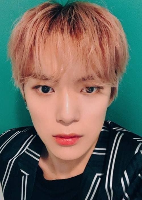 Minhyuk as seen in a selfie