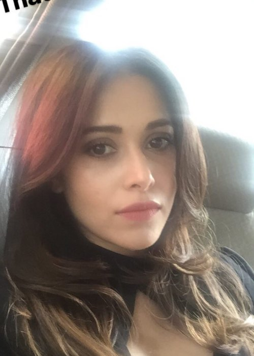 Nushrat Bharucha in an Instagram selfie as seen in November 2016