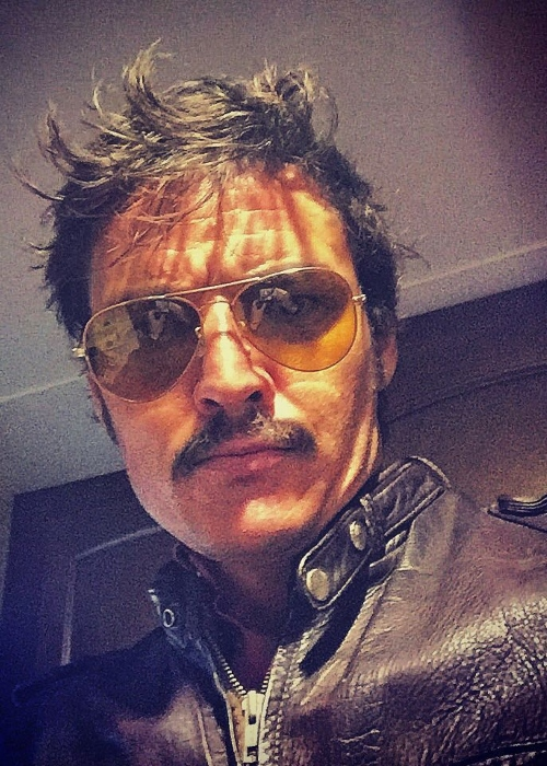 Pedro Pascal as seen in a selfie