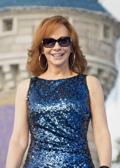 Reba McEntire as seen in March 2018