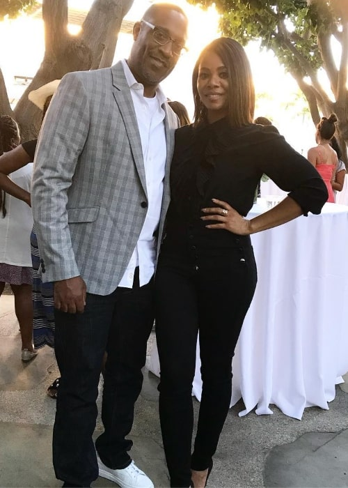 Regina Hall with George Tillman Jr. in September 2018
