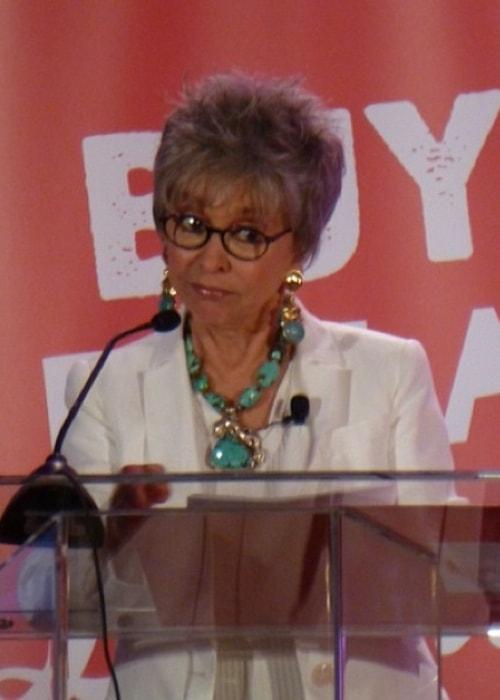 Rita Moreno as seen in April 2003