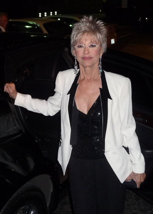 Rita Moreno at the West Side Story 50th Anniversary Celebration in November 2011