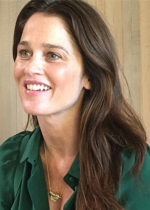 Robin Tunney as seen in August 2016