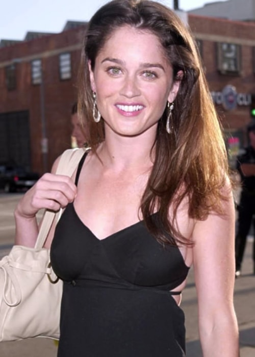 Robin Tunney as seen in December 2008