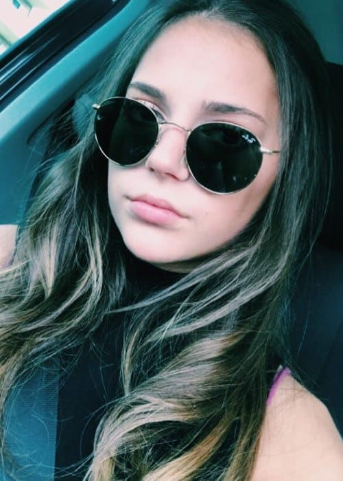 Romy Weltman in an Instagram selfie as seen in September 2017