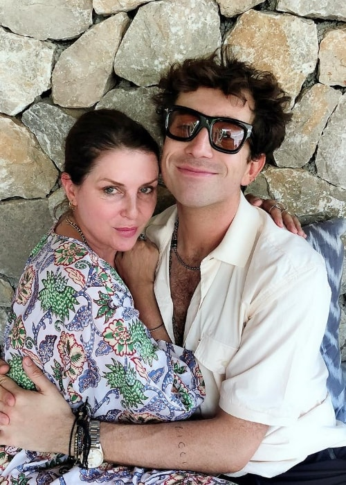 Sadie Frost with Grimmy in August 2018