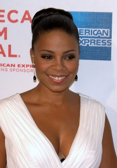 Sanaa Lathan at the 2009 Tribeca Film Festival premiere of Wonderful World