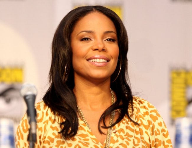Sanaa Lathan on The Cleveland Show panel at the 2010 San Diego Comic Con