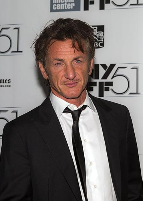 Sean Penn as seen at the 51st New York Film Festival in October 2013