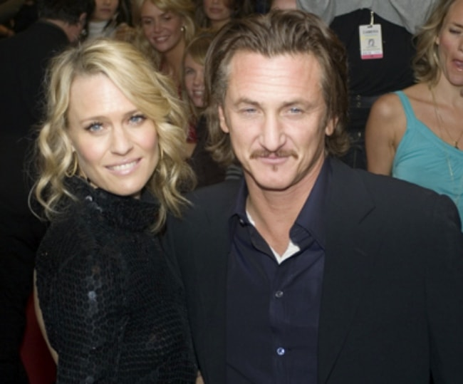 Sean Penn with Robin Wright Penn in September 2006