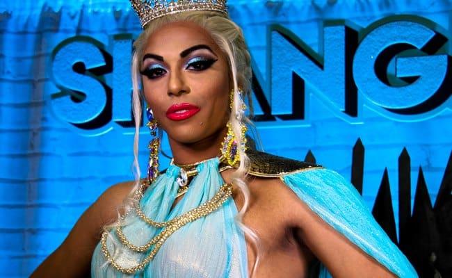 Shangela Laquifa Wadley at RuPaul's DragCon LA in 2018