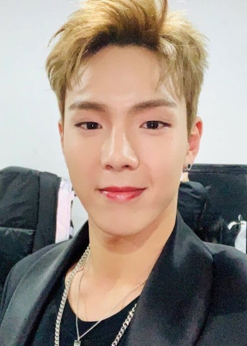 Shownu in an Instagram selfie as seen in November 2018