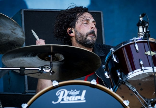 Tony Palermo during a performance at Rock am Ring as seen in June 2015