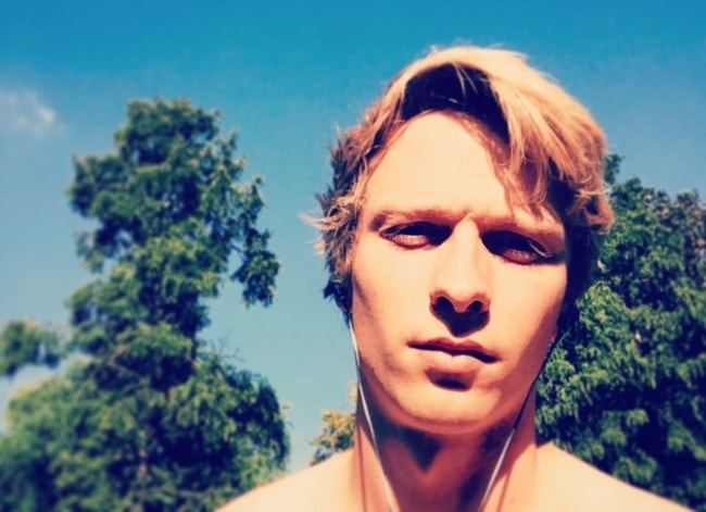 Will Tudor in a selfie in August 2016
