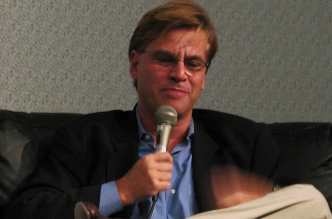 Aaron Sorkin during an event in November 2008